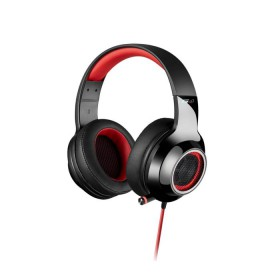 Headphone Edifier USB 7.1 V4 Black/Red - EDIFIER