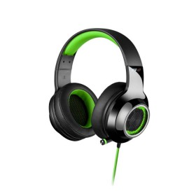 Headphone Edifier USB 7.1 V4 Black/Green - EDIFIER