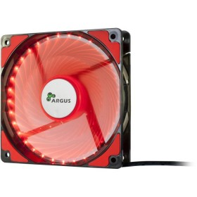 Case Cooler 12cm Argus L-12025 Red - INTER-TECH