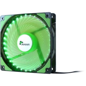 Case Cooler 12cm Argus L-12025 Green - INTER-TECH