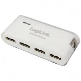 Hub USB + PSU White Logilink UA0086 - LOGILINK
