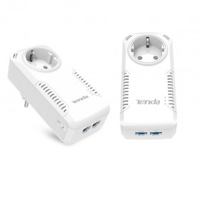 PowerLine Set 1000Mbps pass trough Tenda P1002P - TENDA