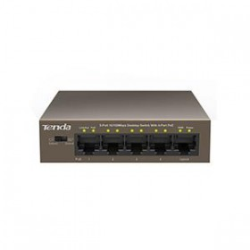 Fast Εthernet 5 port switch Tenda POE TEF1105P - TENDA