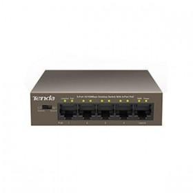 Fast Εthernet 5 port switch Tenda POE TEF1105P - TENDA
