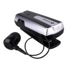 Stereo Retractable Bluetooth Headset Silver UA33ST - OEM