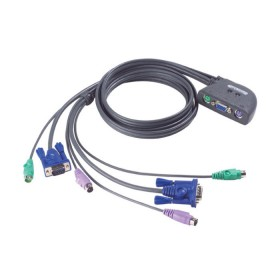 KVM Switch 2 port PS/2 Aten CS62Z - ATEN