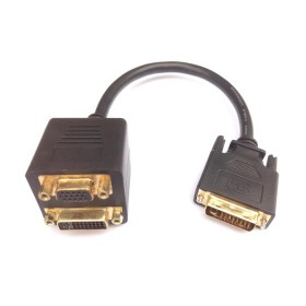 DVI Splitter M to VGA/DVI  F Aculine AD-041 - ACULINE