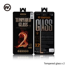 Tempered Glass WK (2pcs set) for iPhone 7 plus - WK