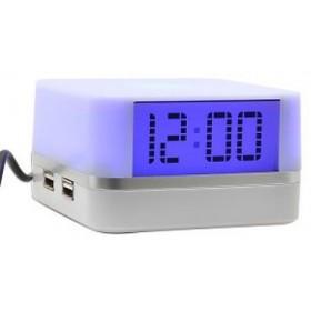 USB Hub 4 Θυρών & Ρολόι  -GOWIRELESS