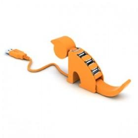 USB hub 4 θυρών, σε σχήμα γάτας-GOWIRELESS