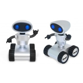 Robot USB Hub Ασημένιο-Smartek
