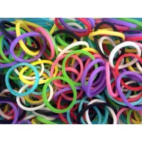 Χρωματιστά Λαστιχάκια για τον Αργαλειό Rainbow Loom-Rainbow Loom