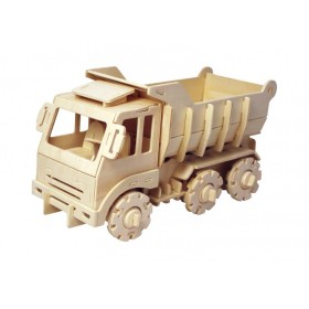 Ξύλινο 3D πάζλ Τηλεκατευθυνόμενο Φορτηγό-Robotime
