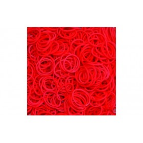 Κόκκινα Λαστιχάκια για τον Αργαλειό Rainbow Loom-Rainbow Loom