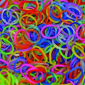 Χρωματιστά Jelly Λαστιχάκια για τον Αργαλειό Rainbow Loom