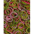 Καμουφλάζ ροζ λαστιχάκια για τον αργαλειό Rainbow Loom-Rainbow Loom