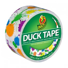 Duck Tape Paint Splatter-Duck Tape