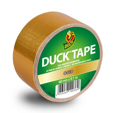 Duck Tape Big Rolls Gold