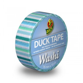 Duck Tape Washi Blue Stripes