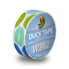 Duck Tape Washi Aqua Kiss