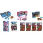 Κιτ Rainbow Loom με αργαλειό, αργαλειό για τα μαλλιά, μίνι αργαλειό, αργαλειό Finger Loom, 600 πολύχρωμα C-Clips και 4800 λαστιχάκια