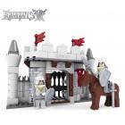 Πύλη Κάστρου Ιπποτών με φιγούρες και άλογο - 174 κομμάτια