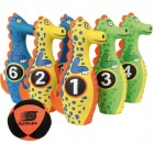 Σετ bowling πολύχρωμοι δεινόσαυροι