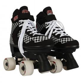 Ρυθμιζόμενα Roller Skates Checkered της Circle Society 34-39