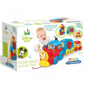 AS Disney Baby Clementoni - Mickey Activity Train Pull Along (1000-17168)