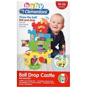 AS Baby Clementoni - Ball Drop Castle Roll and Run (1000-17226)