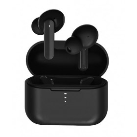 QCY T10 TWS BLACK Dual Armature Driver 4-mic noise cancel. True Wireless Earbuds Quick Charge 600mAh