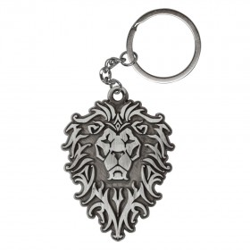 Jinx WoW Alliance Logo Metal Keychain LEWE-05943KC-SVA-NA-JNX