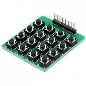 4x4 Matrix Keypad Tact Switch - ME045