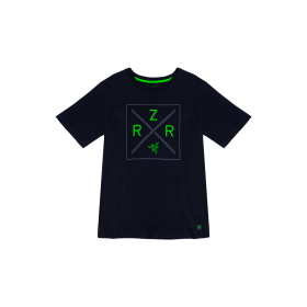 Razer Lifestyle Chroma Shield T-Shirt - Men M Size RGS8M01S4P-01-05ME