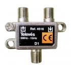 Televes 4516 TAP-OFF 8dB 1 εξόδου - TLV-4516