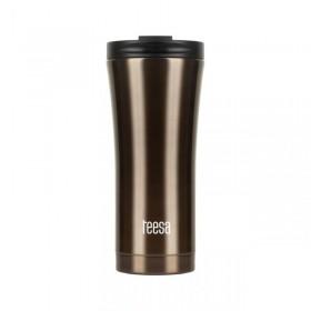 Θερμός ποτήρι TEESA 500ml σκούρο καφέ - TSA0008