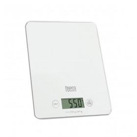 Ζυγαριά Κουζίνας Λευκή με Γυαλί TEESA - TSA0804W