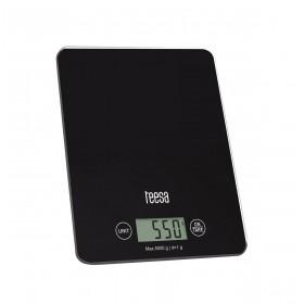 Ζυγαριά Κουζίνας Μαύρη με Γυαλί TEESA - TSA0804