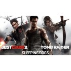 PS3 ULTIMATE ACTION TRIPLE PACK (INC. JUST CAUSE 2 + SLEEPING DOGS + TOMB RAIDER) (EU)