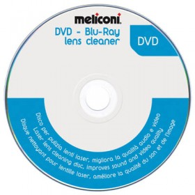 MELICONI DVD BLUE RAY LENS CLEANER - MELICONI