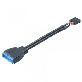 AKASA AK-CBUB19-10BK USB3.0 MALE TO USB2.0 ΚΑΛΩΔΙΟ - AKASA