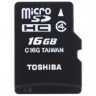 TOS MICROSD 16GB HS STANDARD WITH ADAPTER NEW - TOSHIBA