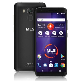 MLS RANGE 5.5 4G BLACK DUAL SIM - MLS