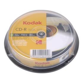 KODAK CD-R Printable 52x 700MB 10-Pack - KODAK