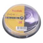 KODAK DVD-R 16x 4.7GB 10-Pack - KODAK