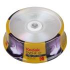 KODAK DVD-R 16x 4.7GB 25-Pack - KODAK