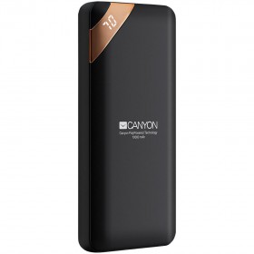CANYON CPBP10B POWERBANK 10000mAh WITH DISPLAY