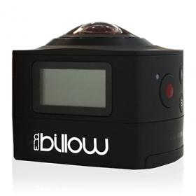 BILLOW WI-FI SPORT ACTION CAMERA 360º (BLACK)