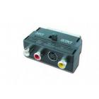 ΜΕΤΑΤΡΟΠΕΑΣ CABLEXPERT SCART ΣΕ 3 RCA  and amp; 1 S-Video ΜΕ ΔΙΑΚΟΠΤΗ