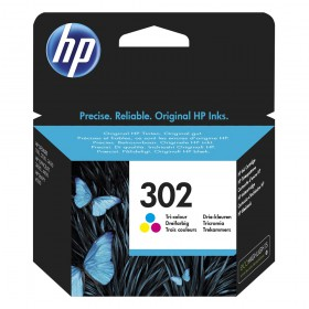 HP Μελάνι Inkjet No.302 Tri-colour (F6U65AE) (HPF6U65AE)